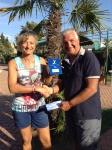 Tappa Polisportiva Anzio 2014 -Over 35 Femm.le lim 4.3  - Mirella Del Conte vincitrice