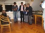 Master  2014 - Ringraziamenti Al CT EUR per l'ospitalità del  Master