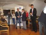 Master 2014 - Gramellini G. ringrazia il Dott. Corbellotti Rappresentante Direzione Marketing BCC Roma