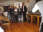 Master 2014 - Targa ricordo al G.A. del Master di doppio - Carla Boggiatto