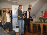Master di Doppio 2014 -  1^ cl. ov 95 lim. 4.3 - Mazzolani - Alaimo - premia Federico Boggiatto