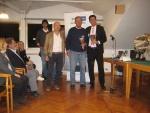 Master di Doppio 2014 - 2^ cl. ov. 125 - Maggiorani - Cantoni premia Federico Boggiatto