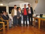 Master di Doppio 2014 - 1^ cl. ov 125 - Claudi - Nucci - premiano Carla e Federico Boggiatto