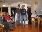 Master 2014 - Gatti Emanuele premia Maggiorani Enrico  1^ cl. ov. 70 lib.